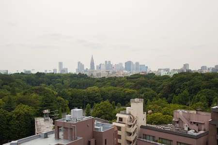 Posh Akasaka, suite w/ PALACE VIEW - Apartment
