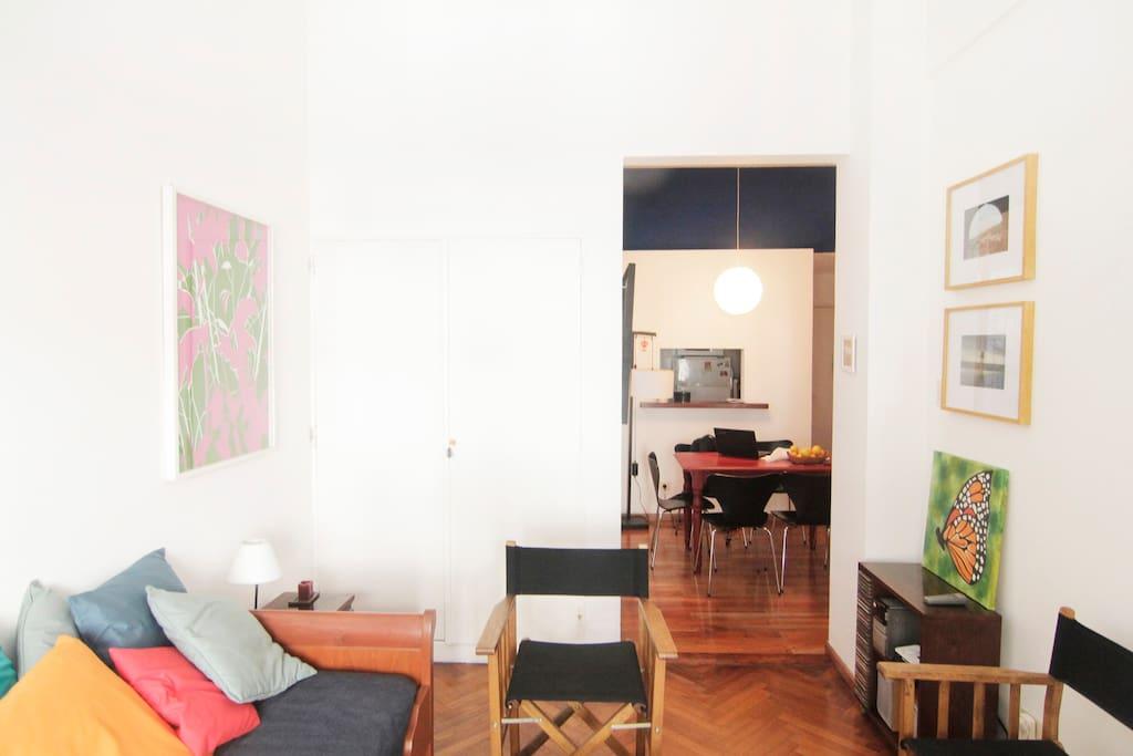 Cozy apartment in Recoleta