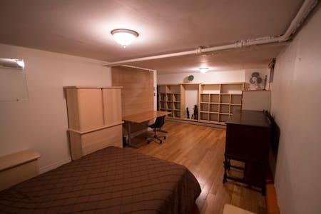 Chambre double pour couple dans Villeray Lit King - Wohnung