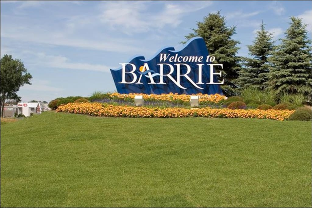 Welcome to Barrie