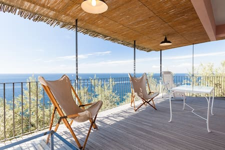 Casa Leyla surrounded by sea