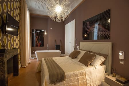 Historical House Palazzo Cannavina - Suite Regina - Bed & Breakfast
