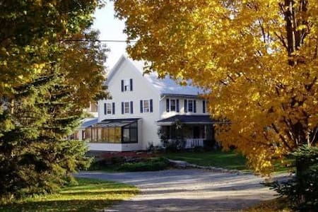 A Vermont Country Inn  -  Blue room - Szoba reggelivel