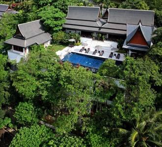 Luxury Sea View Surin Beach Villa - Villa