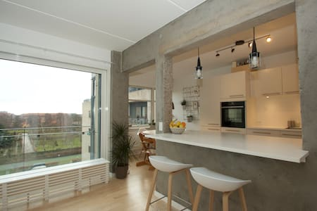 Luxurious & spacious w. great view - Frederiksberg - Apartment