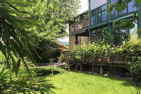 Sunny , cosy room with big terasse close to city - Salzburg - House