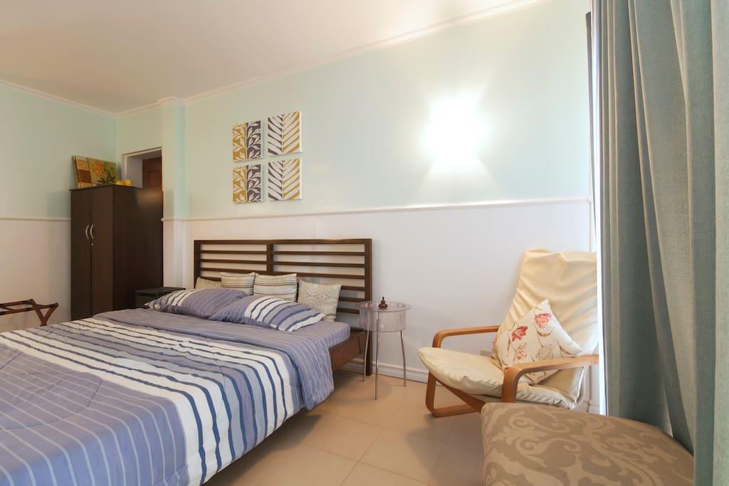 Resort condo Boracay with Kitchen