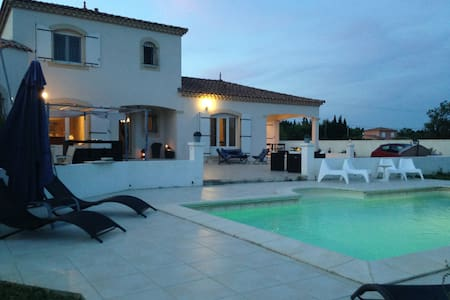 Casa Chill 5* - Piscine, BBQ, 8pers., clim... - Arles