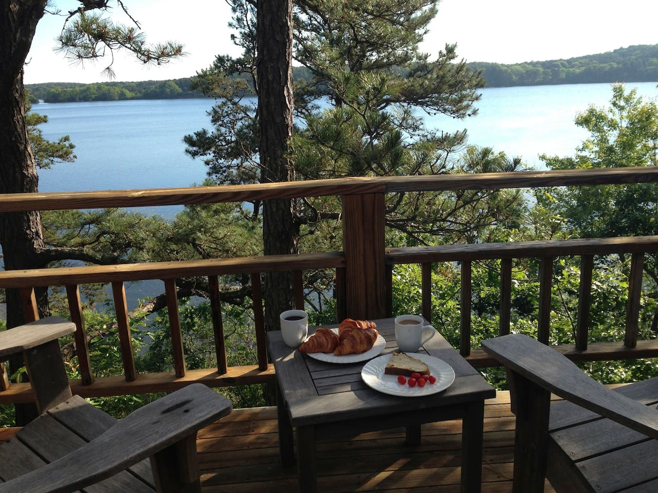 Breakfast on the Deck - As Good As It Gets - Only Better