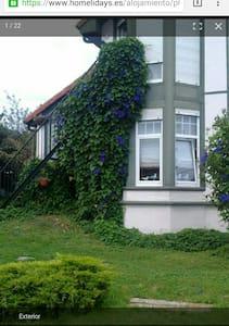 Estudio con vistas y jardin. - Santillana del Mar,  - Casa