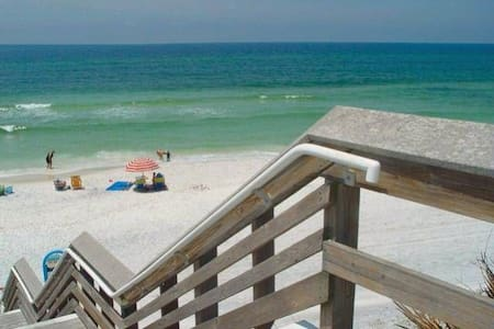 Skinny Dip Condo at Beachwood Villas right on 30A. - Санта-Роза-Бич