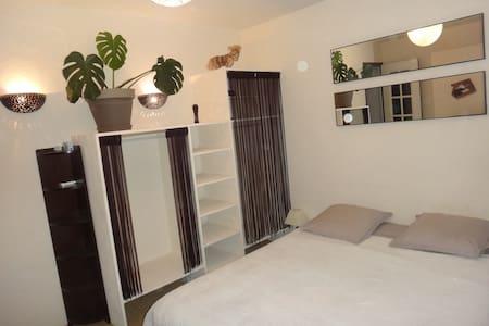 Chambre privée avec salle de douche - Le Mesnil-Saint-Denis - Hus