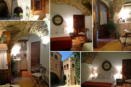 Charming studio apartment - Monells - Huoneisto