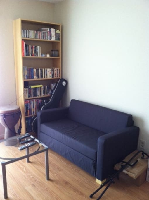 LIVING ROOM COUCH, LIBRARY