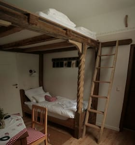 Bedroom for 3 on adventure island - Eberstedt - Casa