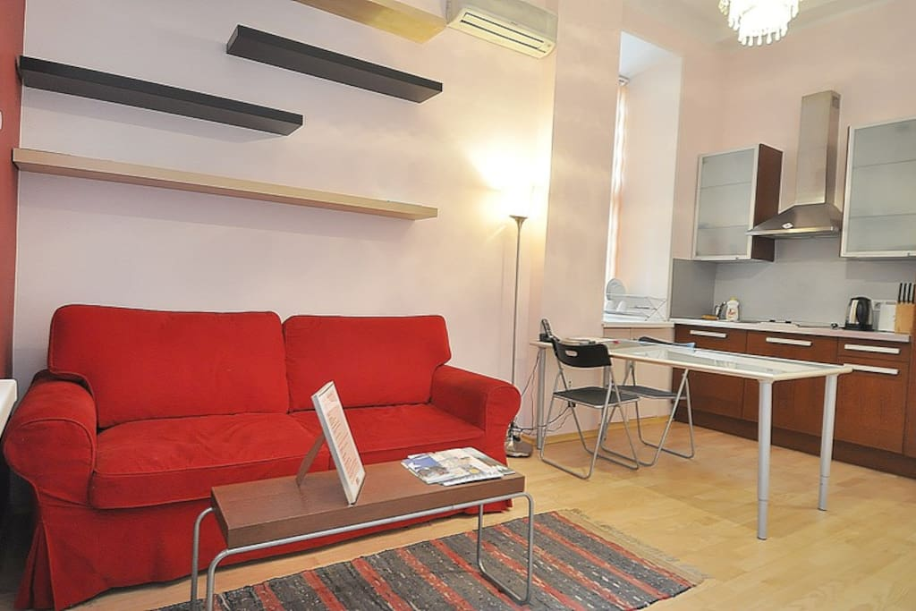 Cosy flat Tverskaya, Red Square 117