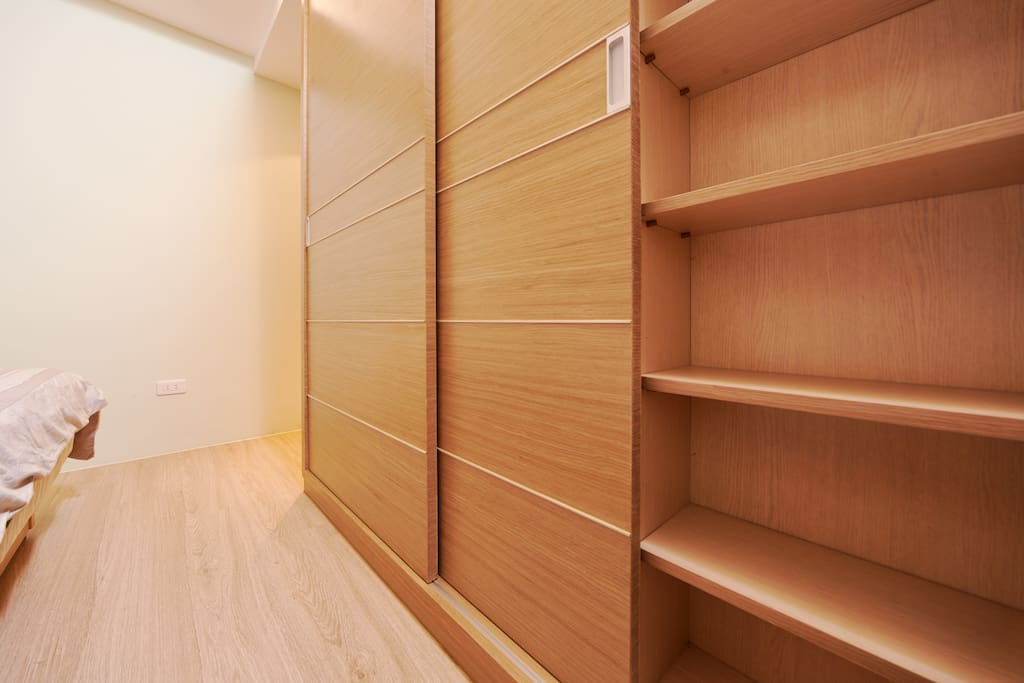 Big closet in master room