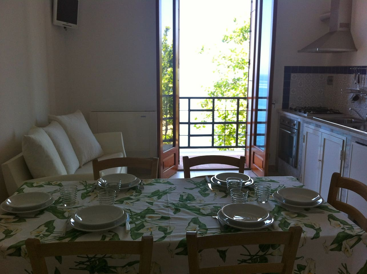 Apartment for 7 next to Cefalù
