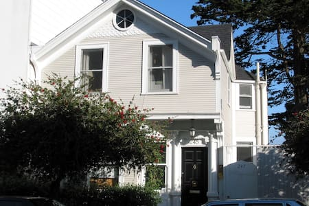 View Home w/ parking in SF center