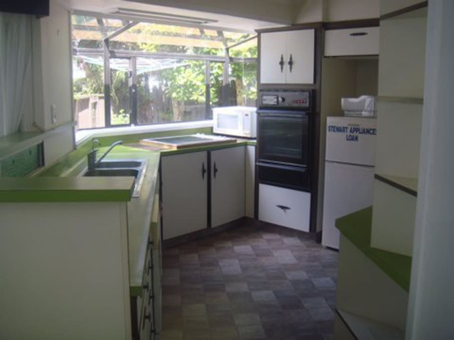 The Kitchen has a dishwasher, microwave, stove, oven and pantry