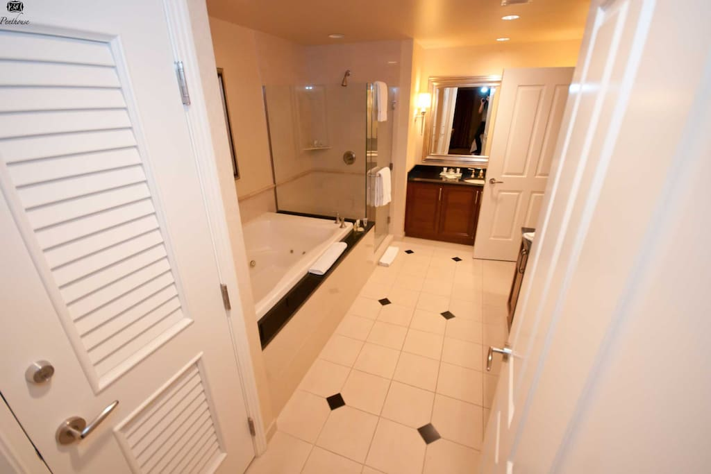 This is the Master bathroom (with attached to the master bathroom)