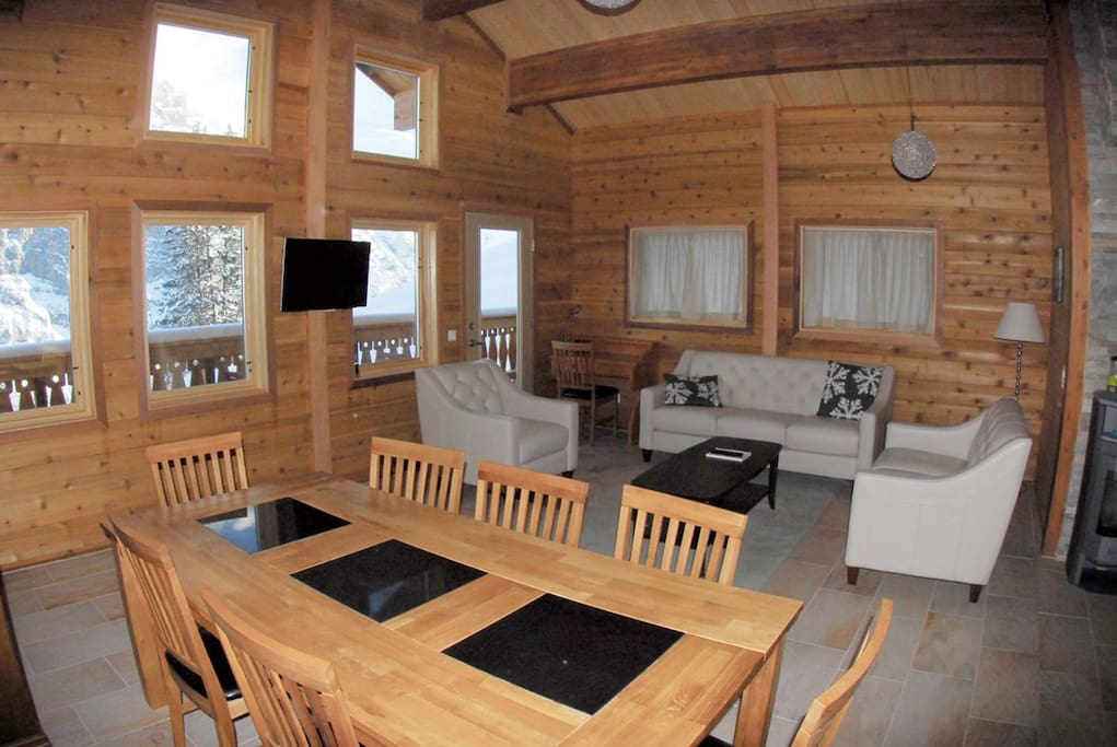 Upper chalet snowbird 2 5 people apartments for rent in murren - Chalet hout ...