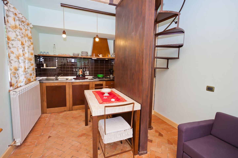 Country Apartment Todi views