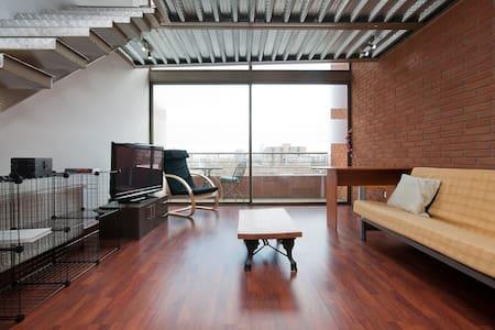 Amazing loft full equiped !!!!