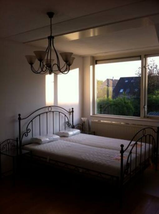 Large room with view in garden