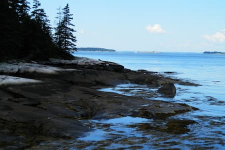 Waterfront Cottage - Harpswell - Rumah