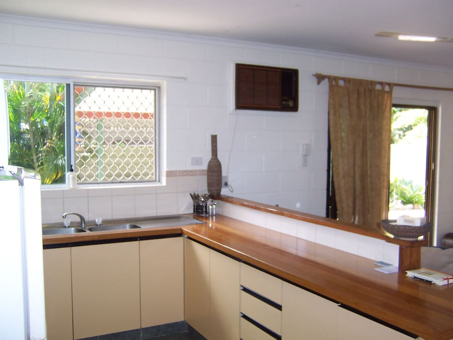 Well equipped kitchens