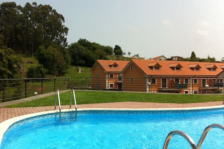 Apartment with garden in Cantabria