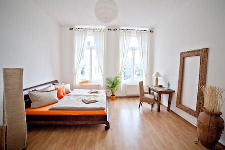 Nice Room - Town Center of Leipzig - Apartamento