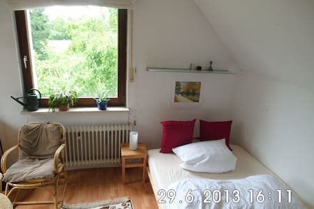 Gemütliches Zimmer - ruhig und stadtnah - Bielefeld - Øy