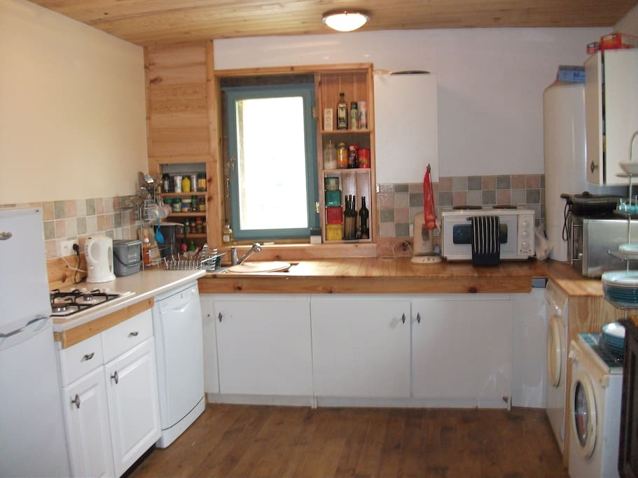 his is the kitchen
