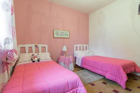 1 Hab. 2 camas individuales + 1 adicional opcional - Chalet
