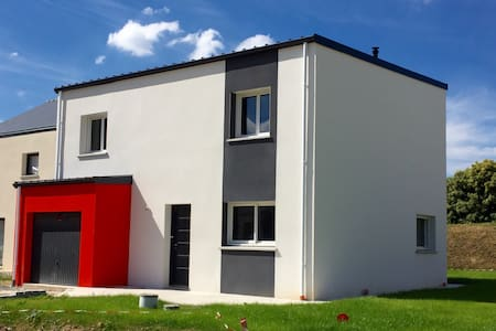 Maison moderne proche Rennes - Haus