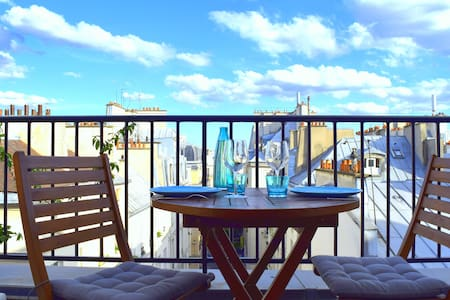 SUNNY ROOFTOP TERRACE APARTMENT - Apartment