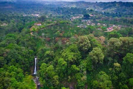Privacy, paradise, panoramic views. - Turrialba - Cabin