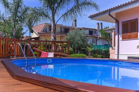 Villa esclusiva con pool privata - Ladispoli - Villa