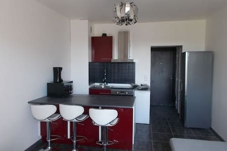 Studio meublé, proche centre et commodités - Appartement