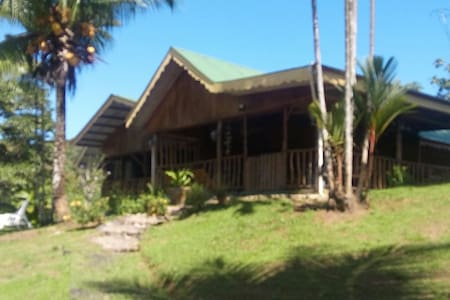 Fan cooled 4 bed private with bath - Bocas del Toro - Bed & Breakfast