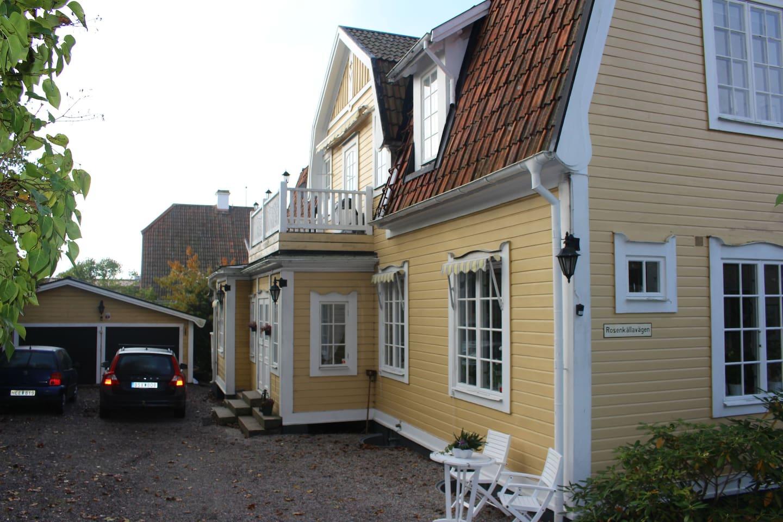 Villa rosenkälla   bed & breakfasts for rent in nyköping