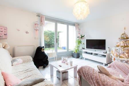 Chambre + petit déjeuner - La Motte-Servolex - Appartement