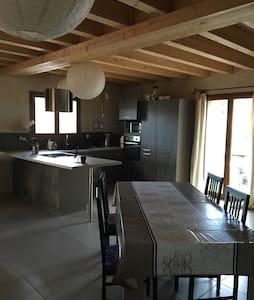 Superbe maison vue sur les Pyrénées - Rumah