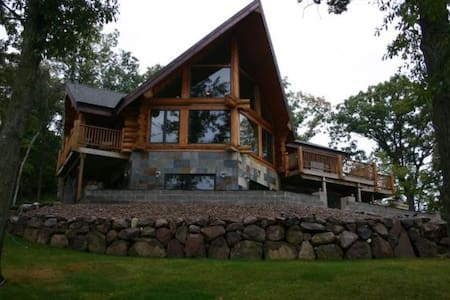 Lake Log Home Spectacular Views - House