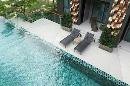 TRIPLE 4BR PENTHOUSE @ EMERALD TERRACE Patong Hill - Patong beach - Wohnung