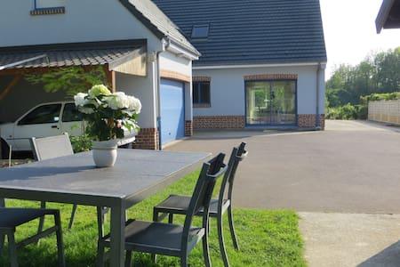 La maison bleue de Dainville - Dainville - Huis