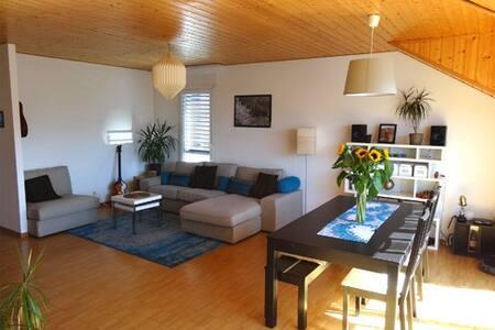 3,5 pièces au centre d'Yverdon et vue sur le Jura - Apartment