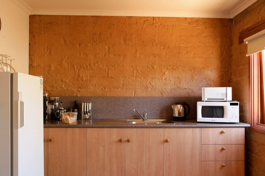 Kitchen facilities (Toaster, Microwave, Convectional Oven with hotplates)